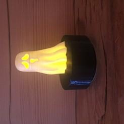 Télécharger fichier 3D gratuit Lampe Fantôme Halloween #3DSIMO, maxime74