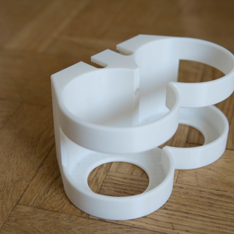 DSC04359.jpg Download free STL file Shampoo and conditioner pipe mount • 3D printing object, hallonhatt