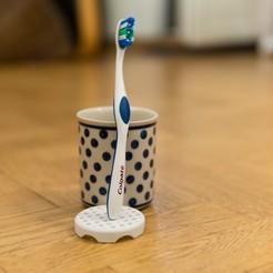 Download free 3D model Toothbrush yuck protector, hallonhatt