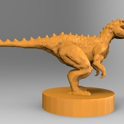 untitled.35.jpg Download STL file The fantasy dinosaur • 3D print model, ga461888