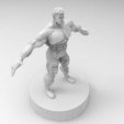 Download 3D printer templates muscle male character, ga461888