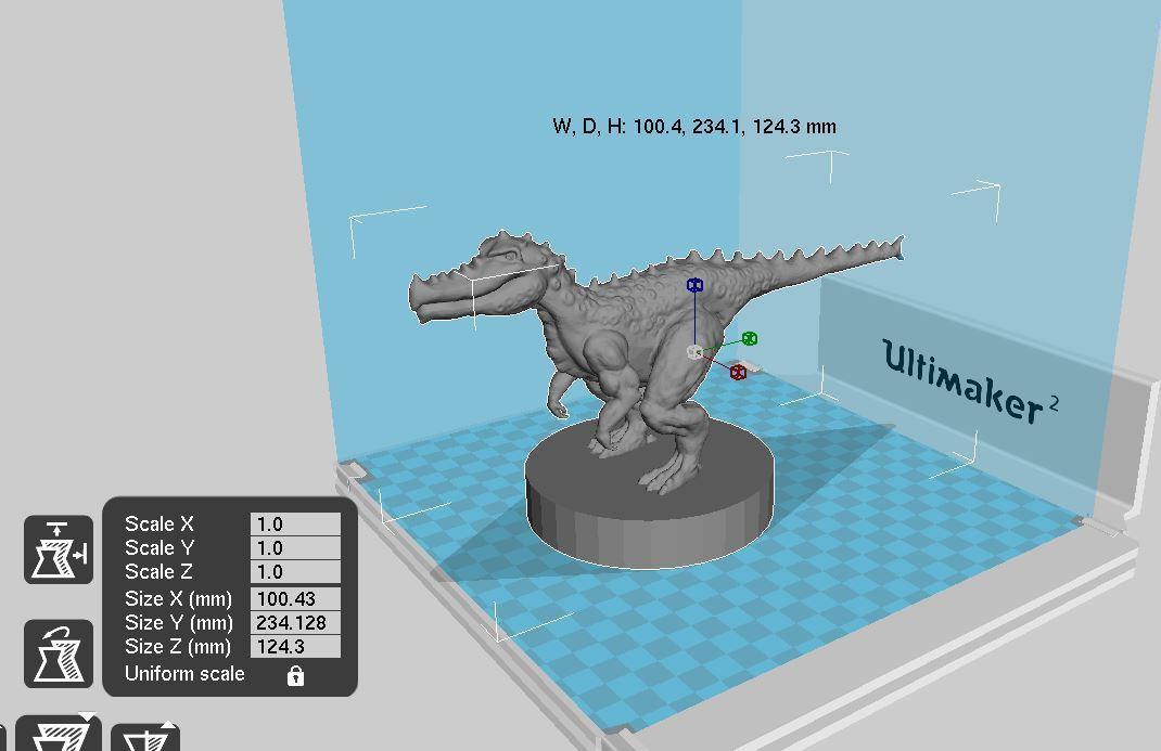 擷取.JPG Download STL file The fantasy dinosaur • 3D print model, ga461888
