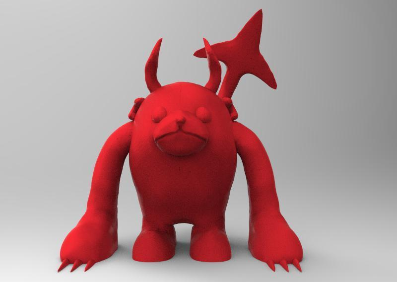 1.jpg Download STL file bub the bear • 3D printable design, ga461888
