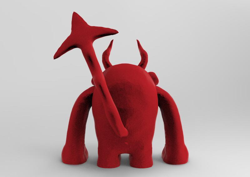 3.jpg Download STL file bub the bear • 3D printable design, ga461888
