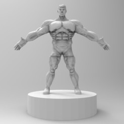 untitled.33.jpg Download STL file muscle male character • Design to 3D print, ga461888