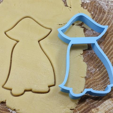 Impresiones 3D Cortador de galletas Drácula para profesionales, gleblubin