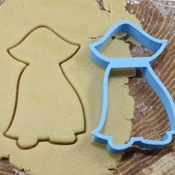 дракула.jpg Download OBJ file Dracula cookie cutter for professional • 3D printable template, gleblubin