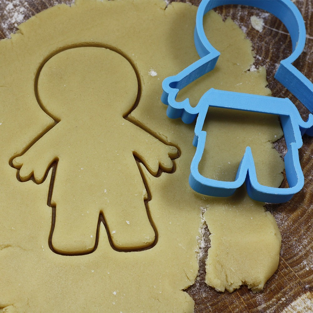 мумия.jpg Download OBJ file Mummy cookie cutter for professional • 3D printer design, gleblubin
