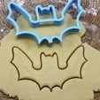 01.jpg Download OBJ file Bat cookie cutter for professional • 3D printing template, gleblubin