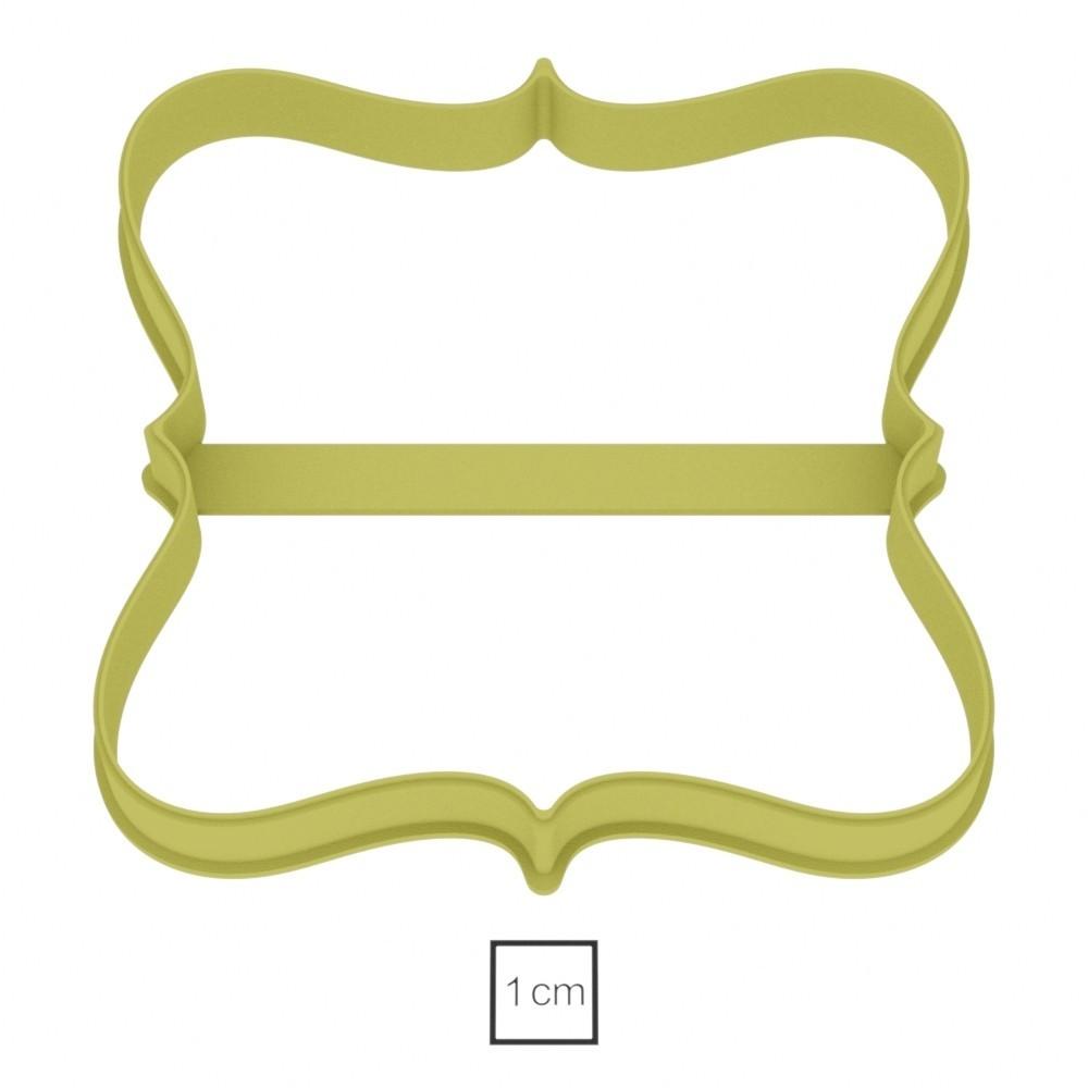 plate 23_04.jpg Download STL file Plate 23 cookie cutter for professional • 3D printable design, gleblubin
