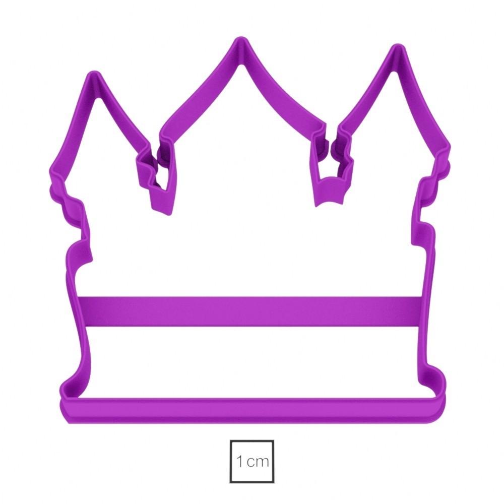 02.jpg Download OBJ file Castle cookie cutter for professional • 3D printing object, gleblubin