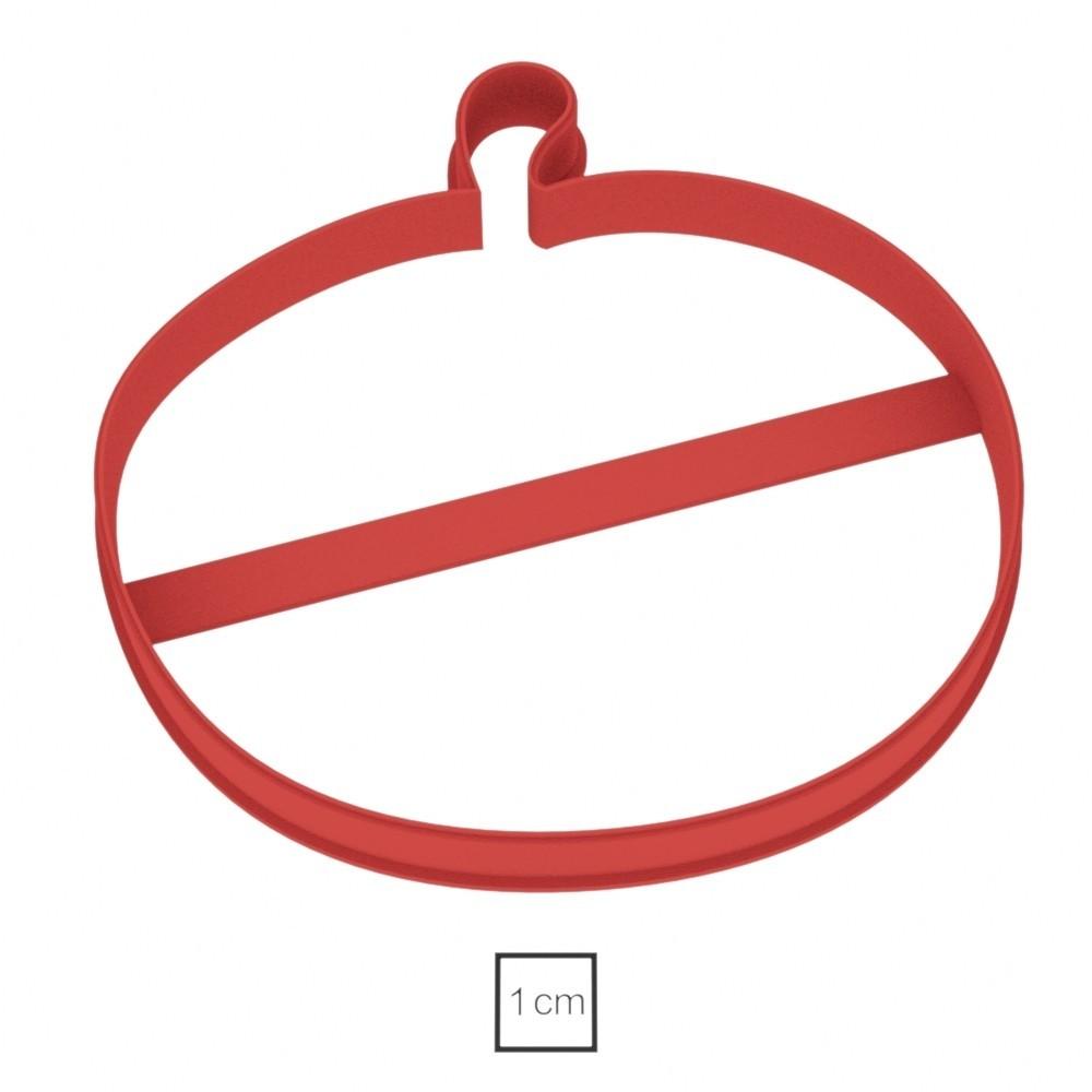 02.jpg Download OBJ file Pumpkin cookie cutter for professional  • 3D print design, gleblubin
