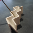 Free 3D printer files Zig-Zag Incense Holder, Toomblercazz