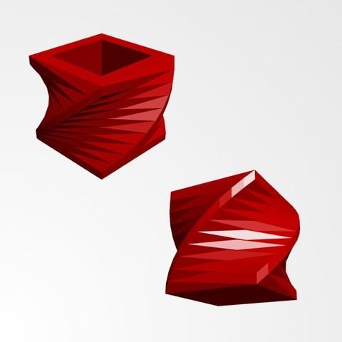 Download 3D printer files flower pot, Joanix
