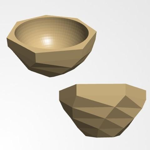 bolle3.jpg Download free STL file bowl • 3D printer object, Joanix
