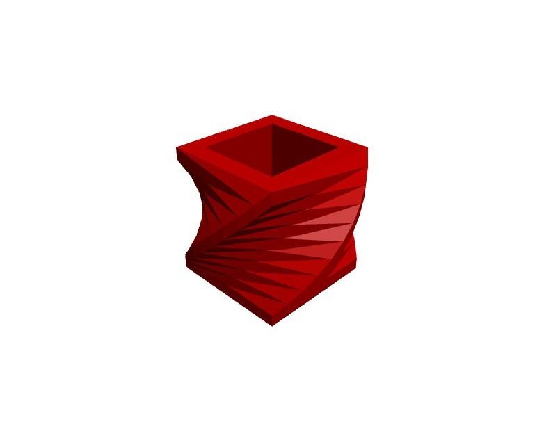 pot_n.jpg Download free STL file flower pot • 3D printer design, Joanix