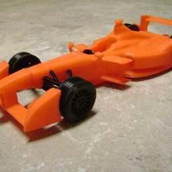 Download free STL file Formula E Race Car • 3D printable design, Joanix