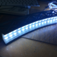 Download free 3D print files Led bridge lamp Universal Segment, Opossums