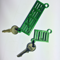 Download free 3D printing designs Gate key-fobs, Opossums