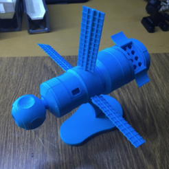 Download free STL file Space station Vjuga • 3D print object, Opossums