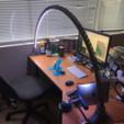Free 3D printer file LED bridge lamp, Opossums