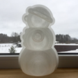 Free 3d printer model Yet another snowman mold, Opossums