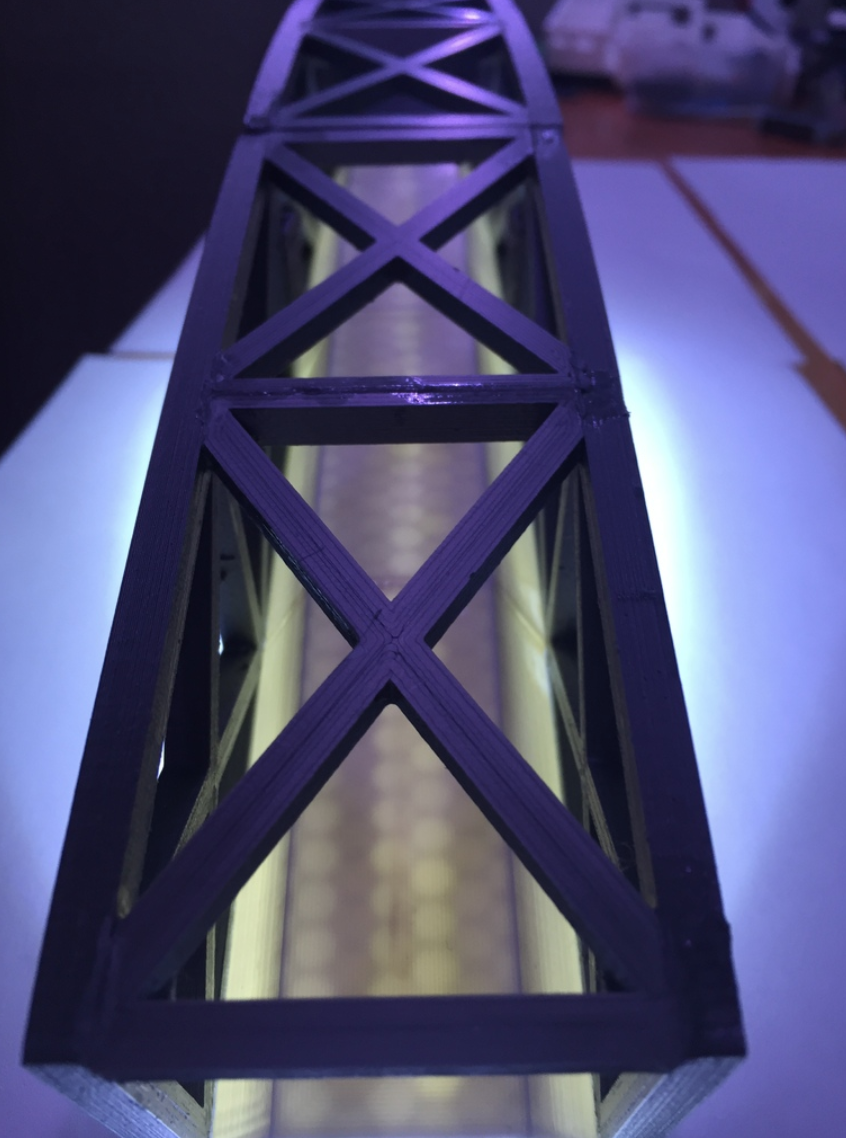 Capture d'écran 2017-10-19 à 16.02.56.png Download free STL file Led bridge lamp Universal Segment • 3D printable design, Opossums