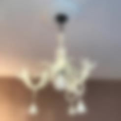 "Download free STL file Chandelier ""Anna"", Opossums"