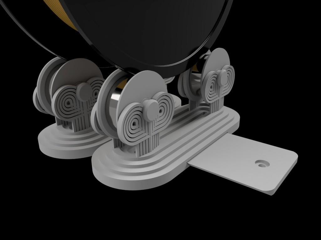 9443dcf8215aaa287352a1b155c14176_display_large.jpg Download free STL file Art Deco adjustable spool holder IKEA Lack enclosure • 3D print design, Opossums