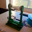 Capture d'écran 2017-10-19 à 15.52.24.png Download free STL file Art Deco style spool holder with bearings • Design to 3D print, Opossums