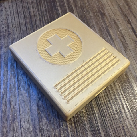 Free 3D printer model Pill box / Аптечка индивидуальная, Opossums