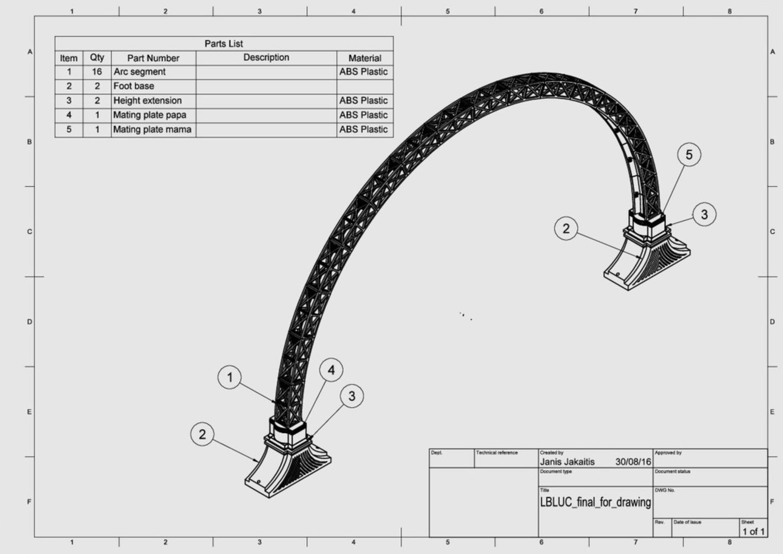 Capture d'écran 2017-10-19 à 16.02.37.png Download free STL file Led bridge lamp Universal Segment • 3D printable design, Opossums