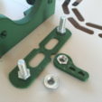 Free 3D printer designs Width adjustment and bolting set for spool holder, Opossums