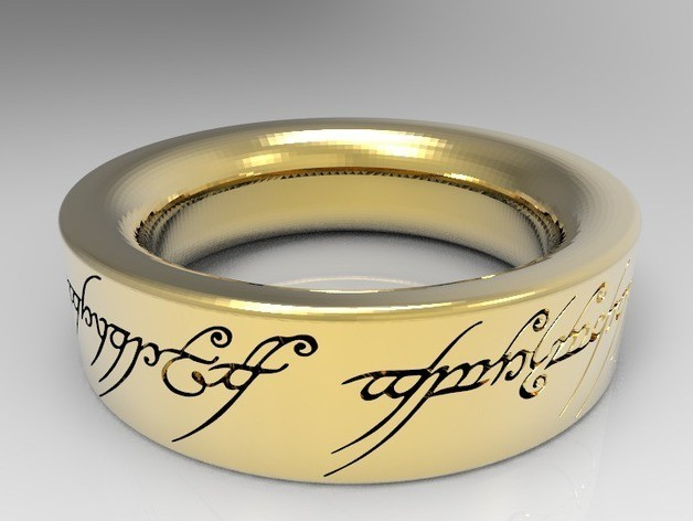 Bez_nazwy-5_preview_featured.jpg Download STL file Sauron s Ring • 3D printer template, kuralito