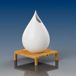 3D printer models Drop lamp, MarcoGarripoli