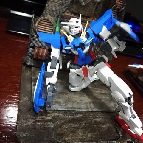 Descargar archivo 3D Hangar Gundam y Base de Acción para Gunpla, CaiquedeAndrade