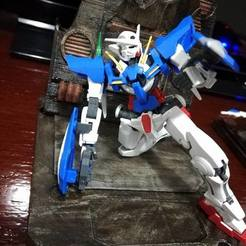 Free 3D printer designs Gundam Hangar and Action Base for Gunpla, CaiquedeAndrade