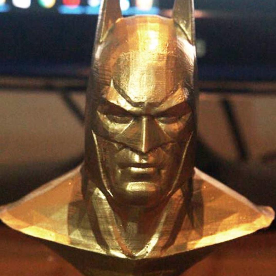 Capture d'écran 2017-11-24 à 16.31.23.png Download free STL file Batman Arkham Asylum Bust • 3D printer object, CaiquedeAndrade