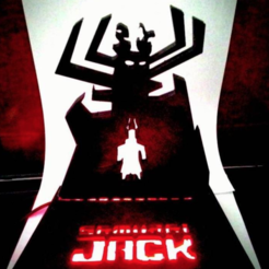 Free 3D printer designs Samurai Jack - Led Lamp, CaiquedeAndrade