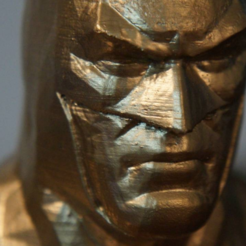 Download free 3D printing files Batman Arkham Asylum Bust, CaiquedeAndrade