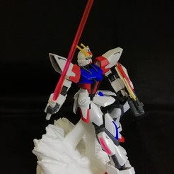 Free 3D printer files Gundam Rock Action Base, CaiquedeAndrade