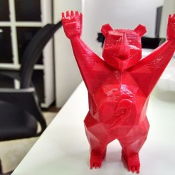 Free 3D printer designs Stratomaker Brown Bear, CaiquedeAndrade