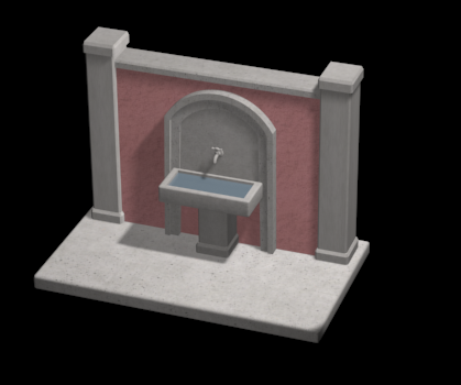Screenshot_2.png Download 3DS file FOUNTAIN • 3D printing template, QKM