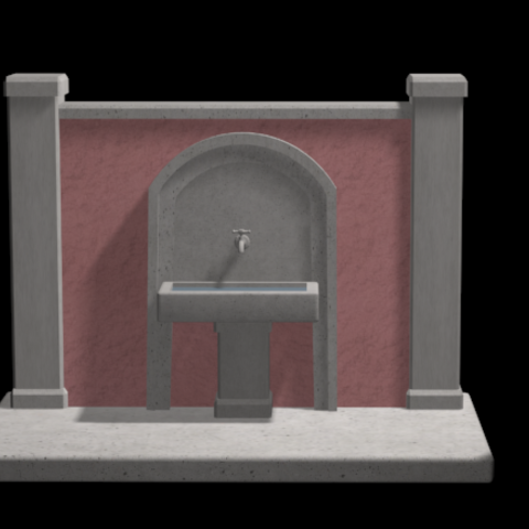 Screenshot_3.png Download 3DS file FOUNTAIN • 3D printing template, QKM