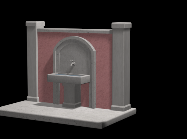 Screenshot_1.png Download 3DS file FOUNTAIN • 3D printing template, QKM