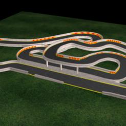Descargar modelos 3D para imprimir calle camino, QKM