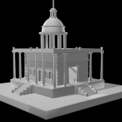 3D printer file super dirty dance temple for live concert, QKM