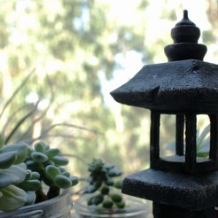 Download free 3D printer designs Pagoda Garden Ornament, ricardo-jfa