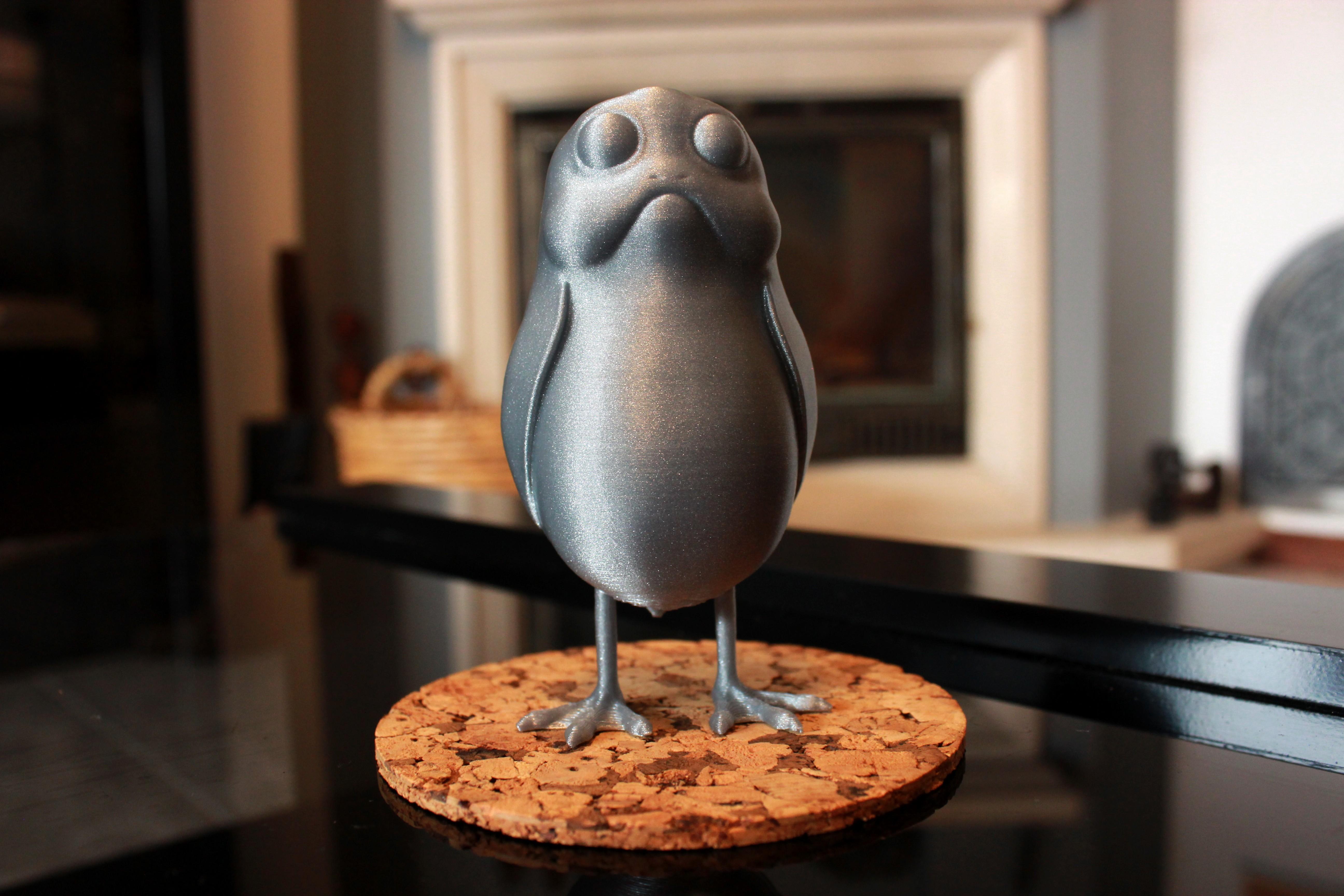 IMG_9818.jpg Download free STL file A little standing Porg • Object to 3D print, ricardo-jfa