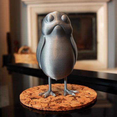 Descargar archivos 3D gratis Un poco de pie Porg, ricardo-jfa